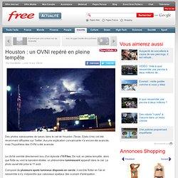 18/08/14 Houston : un OVNI repéré en pleine tempête