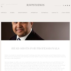 Houston Headshot Photography - RSVP Studios
