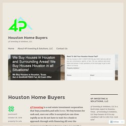 Houston Home Buyers – 4pinvesting.com