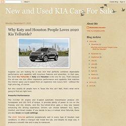 Why Katy and Houston People Loves 2020 Kia Telluride?