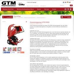 GTM Professional » Webshop » Tuin & Park » Bodem en grondbewerking » Houtversnipperaars