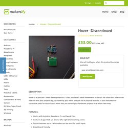 Hover - Discontinued – Makersify