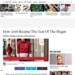 How 2016 Became The Year Of The Slogan