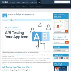 How to A/B Test Your App Icon