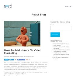 How To Add Humor To Video Marketing