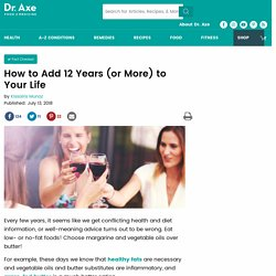 How to Add 12 Years (or More) to Your Life