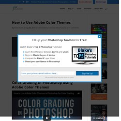 How to Use Adobe Color Themes - f64 Academy