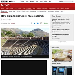 How did ancient Greek music sound?