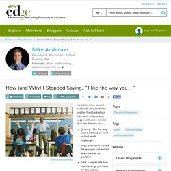 """How (and Why) I Stopped Saying, """"I like the way you…"""""""