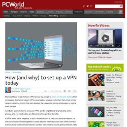 ▶ How (and why) to set up a VPN today