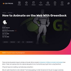 How to Animate on the Web With GreenSock