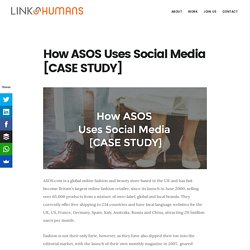 How ASOS Uses Social Media