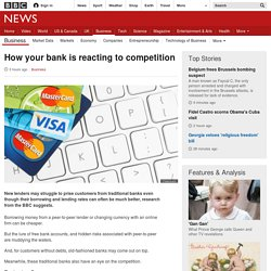 How your bank is reacting to competition