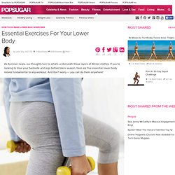 How to Do Basic Lower-Body Exercises