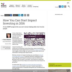 How to Be an Impact Investor