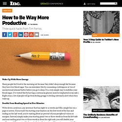 How to Be Way More Productive
