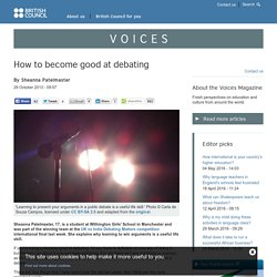 How to become good at debating