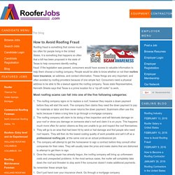 How to Become a Roofer