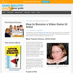 How to Become a Video Game UI Artist