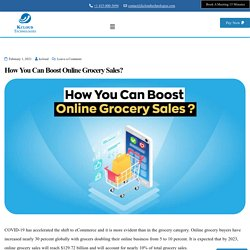 How You Can Boost Online Grocery Sales?