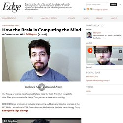 How the Brain Is Computing the Mind