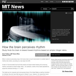 How the brain perceives rhythm