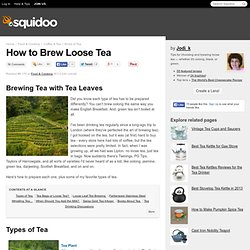 Brewing Tea