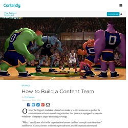 How to Build a Content Team