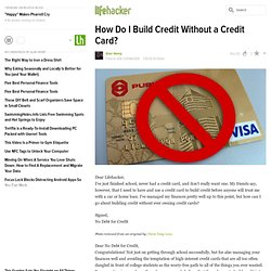 How Do I Build Credit Without a Credit Card?