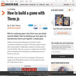 How to build a game with Three.js