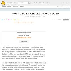 How to build a Rocket Mass Heater