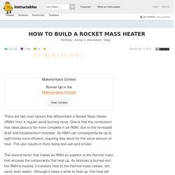 How to build a Rocket Mass Heater