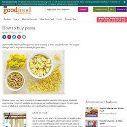 How to buy pasta