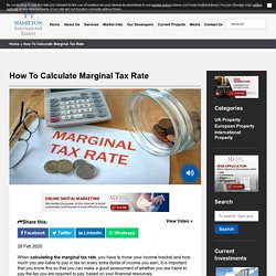 How to calculate marginal tax rate