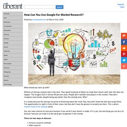 How Can You Use Google For Market Research?