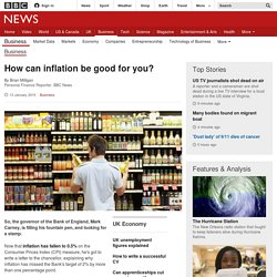 How can inflation be good for you?