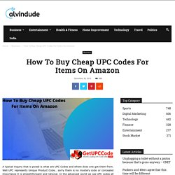 How To Buy Cheap UPC Codes For Items On Amazon