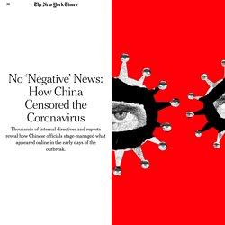 How China Censored Covid-19