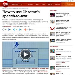 how to use google text to speech on chrome