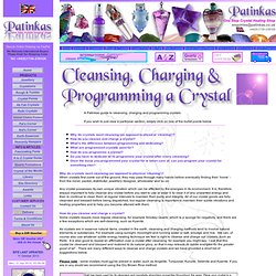 How to Clean & Program Crystals