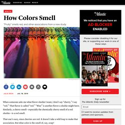 How Colors Smell - Julie Beck