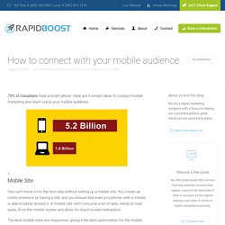 Steps to Conduct Mobile Marketing