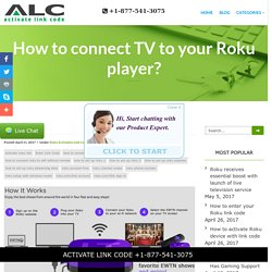 How to connect TV to your Roku player?