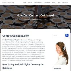How Do I Contact Coinbase? ☎️ +1-888-660-1359