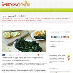How to cook Broccolette