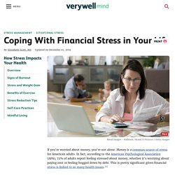 How to Cope With Financial Stress