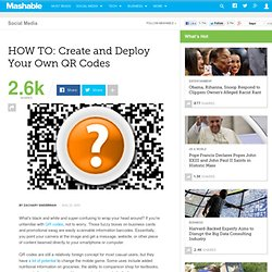 QR Codes: How To Create Your Own