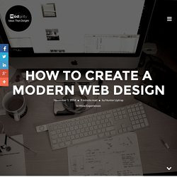 How To Create A Modern Web Design