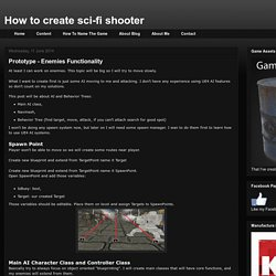 How to create sci-fi shooter