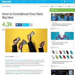 How to Crowdfund Your Next Big Idea